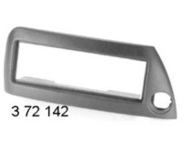 rámeček autorádia -FORD KA -stříbná metalíza