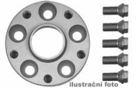 HR podložky pod kola (1pár) FORD Fiesta FBD, FBDP, FVD rozteč 108mm 4 otvory stř.náboj 63,3mm -šířka 1podložky 25mm /sada obsahuje montážní materiál (šrouby, matice)