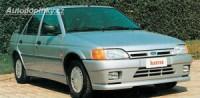 LESTER přední nárazník se 2 světlomety Ford Escort IV-V -- do roku výroby -92